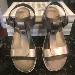 Franco Sarto Flat Sandals Size 8.5